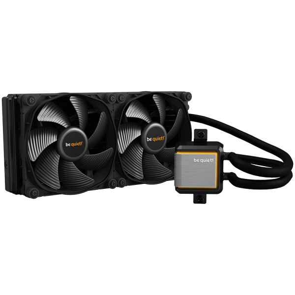 be quiet! SILENT LOOP 2 280mm, Intel: 1200 / 2066 / 1150 / 1151 / 1155 / 2011(-3) Square ILM; AMD: AM4 / AM3(+), sTRX4 / TR4 (optional, mounting-kit (BZ008)), ARGB LEDs, Silent Wings 3, 3-year warranty